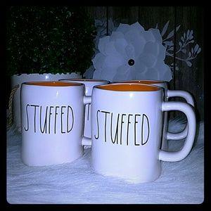 Rae Dunn Stuffed Mug set of 4